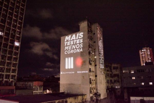 Projeção feita em Manaus