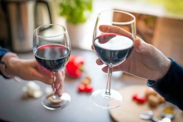 Vinho, brinde