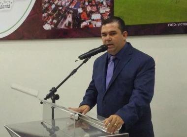 Presidente da Câmara de Guanambi (BA), Zaqueu Rodrigues