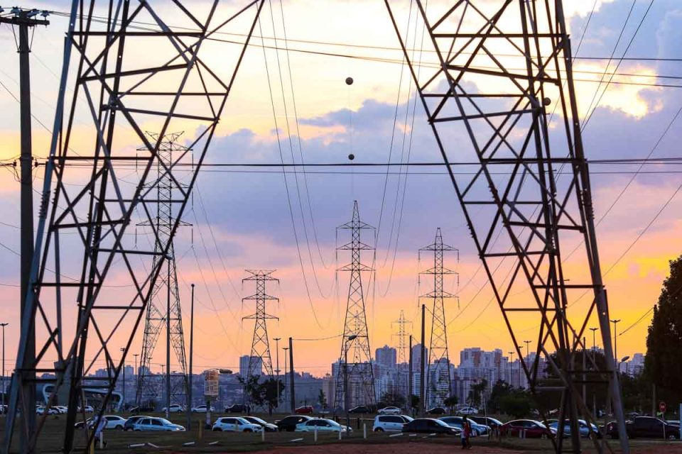 cabos de energia eletrica