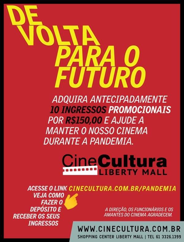 Campanha do Cine Cultura Liberty Mall