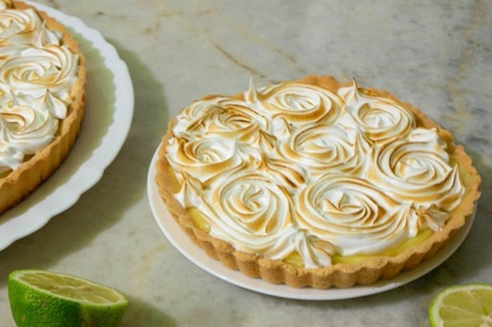 torta fácil de limão