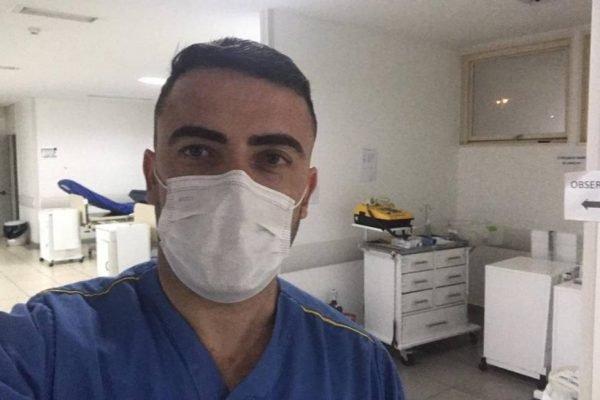 Árbitro da CBF, Igor Benevenuto agora atua como enfermeiro