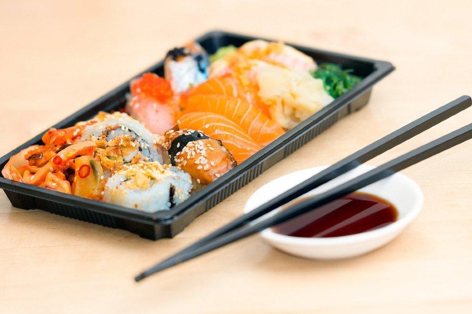 Delivery de sushi