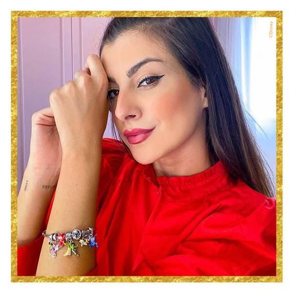 Nah Cardoso com pulseira da Vivara