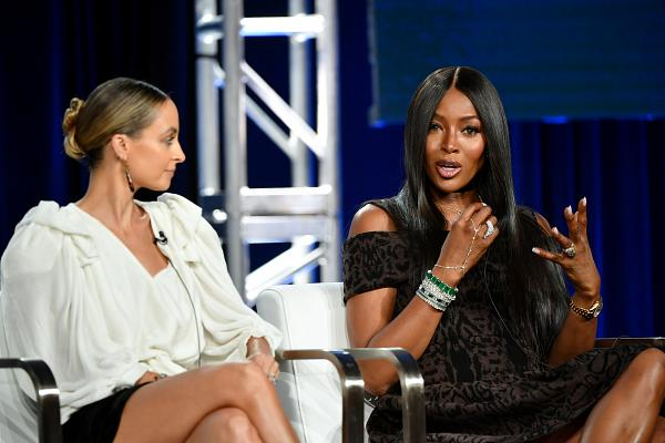 Nicole Richie and Naomi Campbell