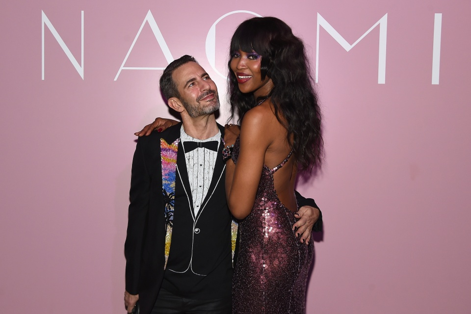 Marc Jacobs e Naomi Campbell