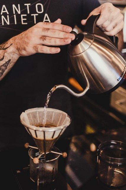 Antonieta Café, café coado