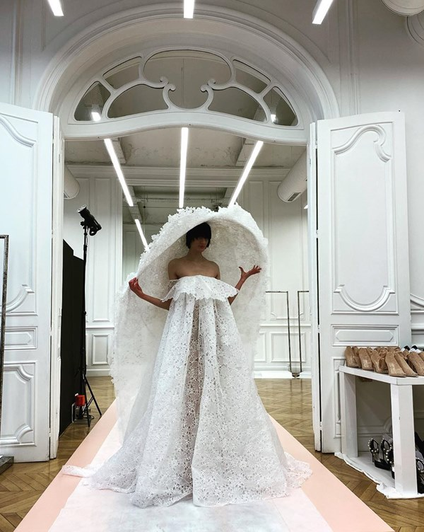 Wedding dress, haute couture Givenchy