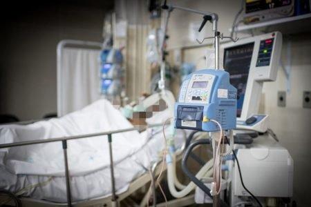 Paciente em UTI no DF