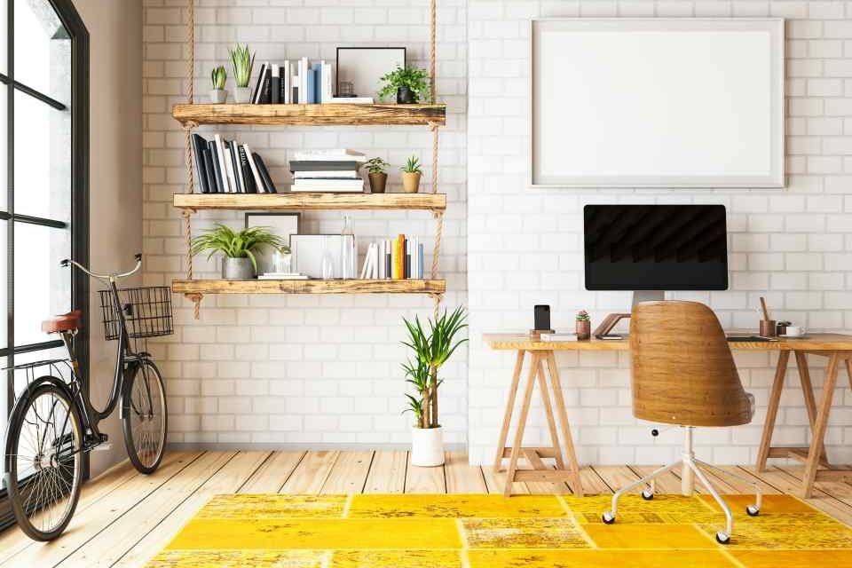 Doze ideias de decoração para um home office instagramável