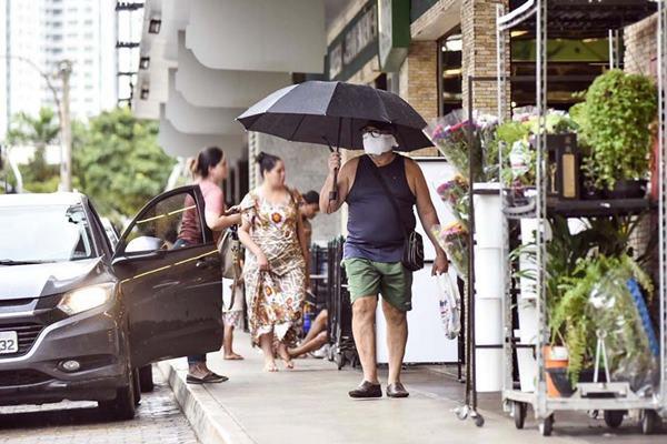 Parte da população de Águas Claras não respeita regras de isolamento social