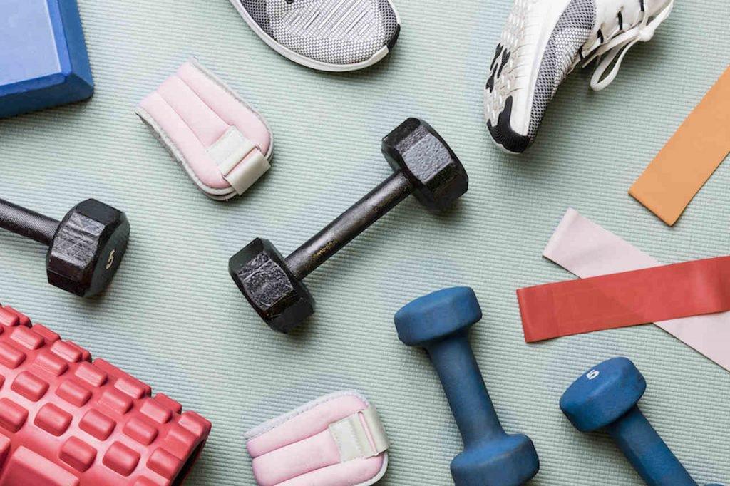 acessórios fitness para treinar em casa