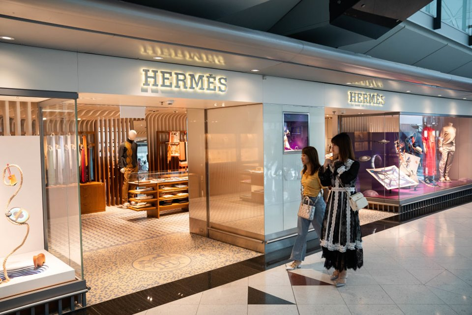 shop Hermes in China,