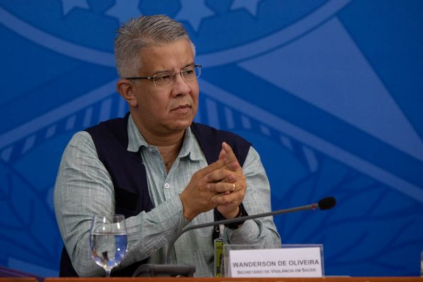 Wanderson de Oliveira era o responsável pela Vigilância em Saúde COletiva