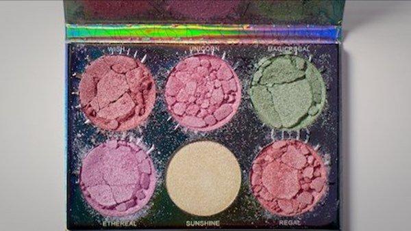 Make-up broken down