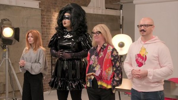 The judges of the series of Glow-Up in the Series
