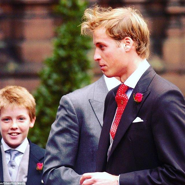 Hugh Grosvenor e príncipe William