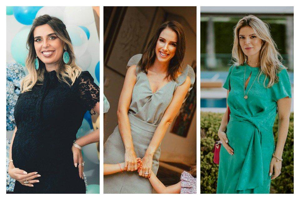 Valeria Bittar, Tamara Rudge e Duda Portella