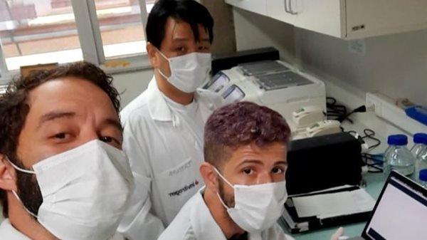 Cientistas da Unb que estão sequenciando coronavírus