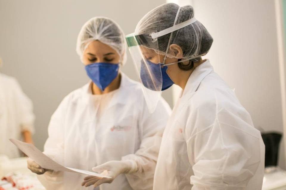 testagem de coronavírus no Sesc-DF
