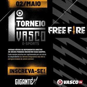 Torneio de Free Fire do Vasco