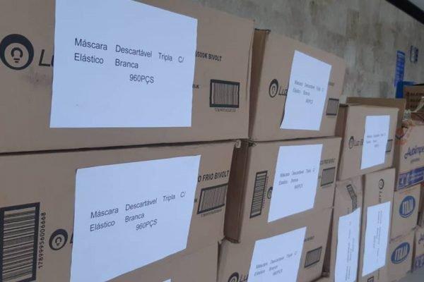 Associação de Intercâmbio China-Brasil doa 10 mil máscaras contra o coronavírus