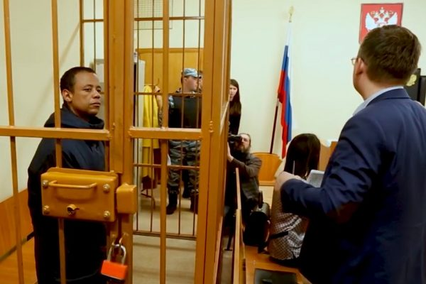 Robson Oliveira preso na Rússia