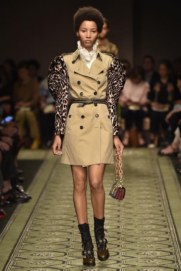 Desfile Burberry London Fashion Week