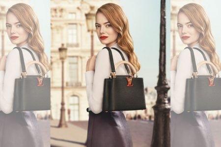 Emma Stone em campanha da Louis Vuitton