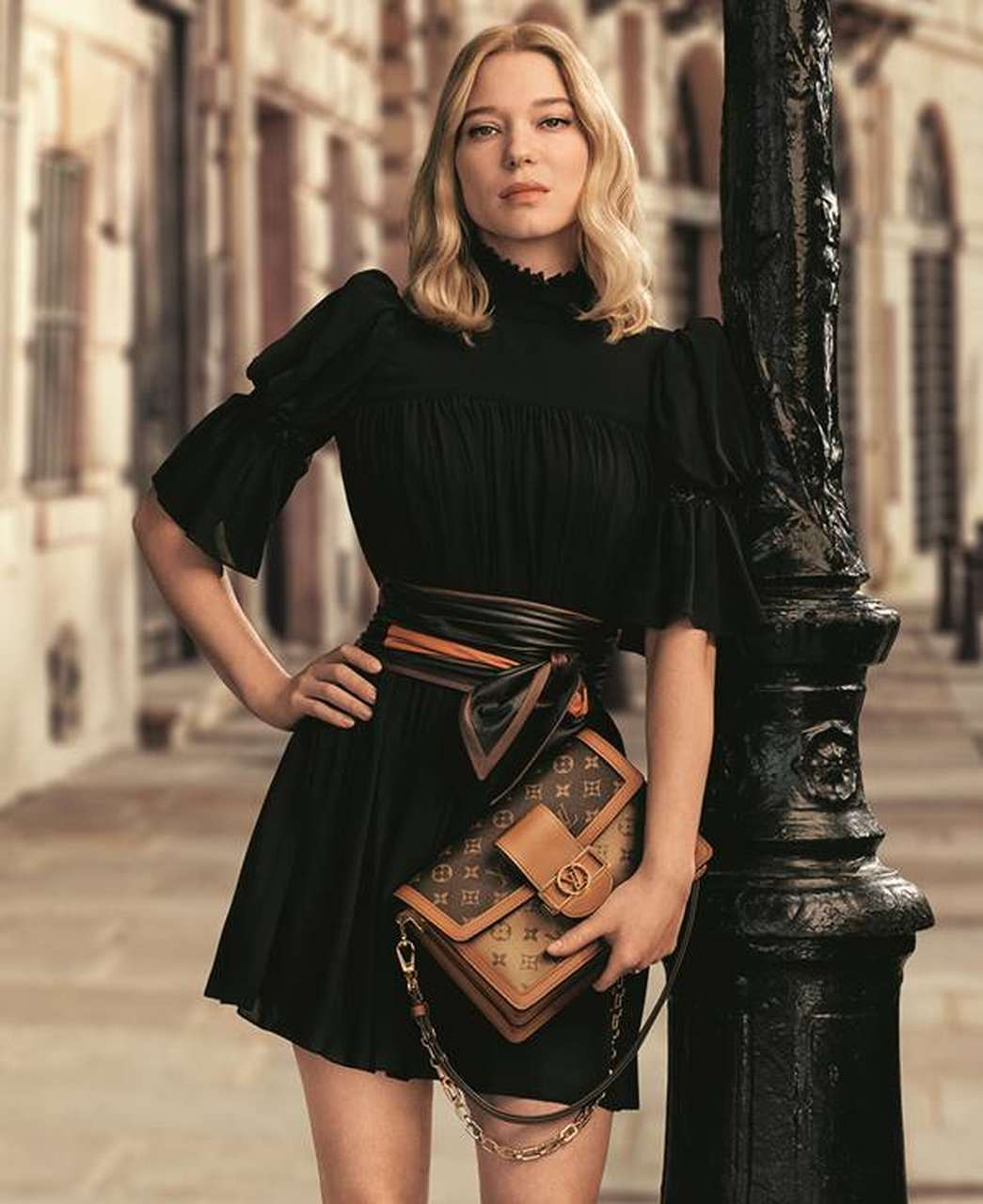 Léa Seydoux-in the campaign the Louis Vuitton
