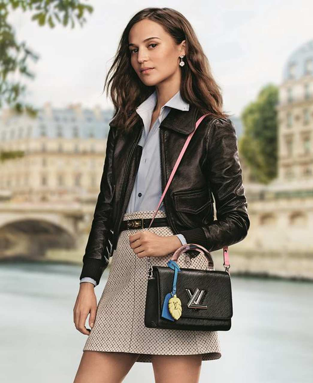 Alicia Vikander, in the campaign the Louis Vuitton