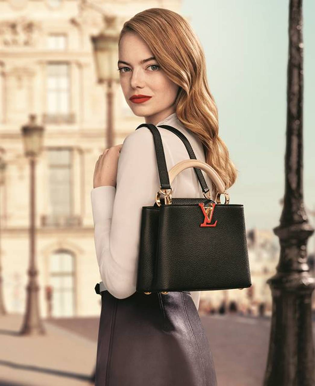 Emma Stone in the campaign the Louis Vuitton