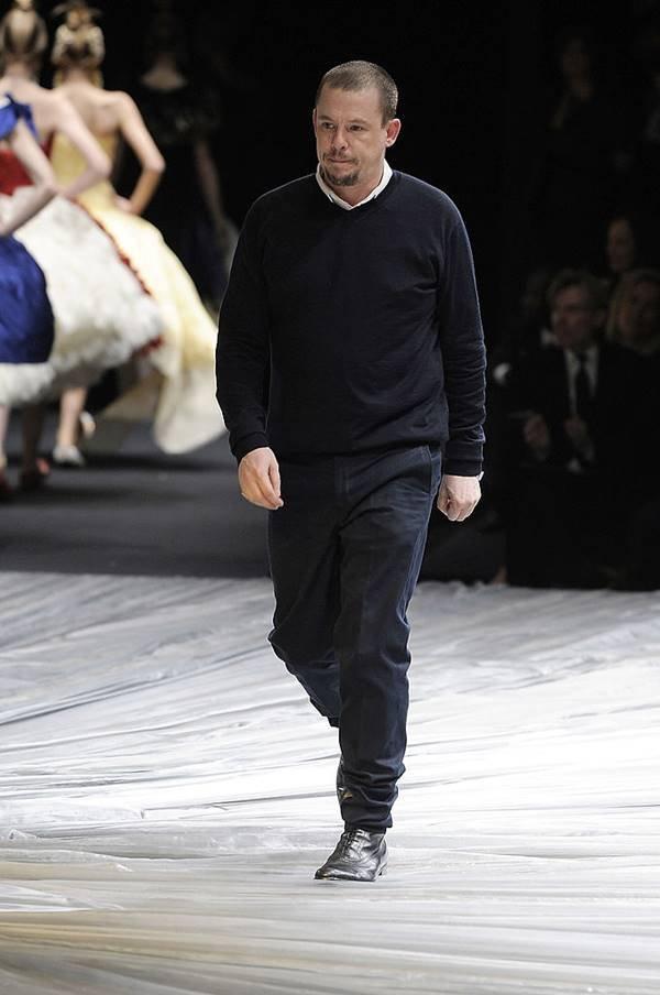 Alexander McQueen na passarela