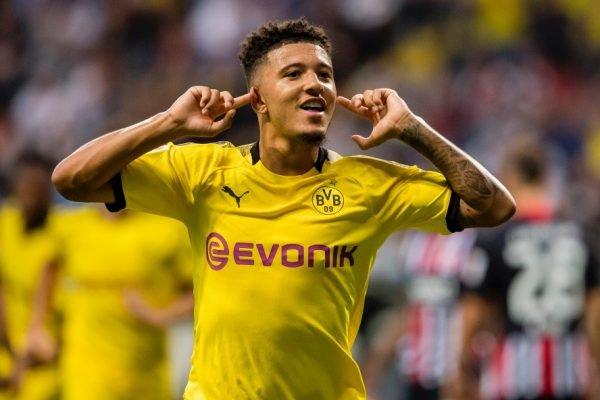 Jadon Sancho, do Borussia Dortmund