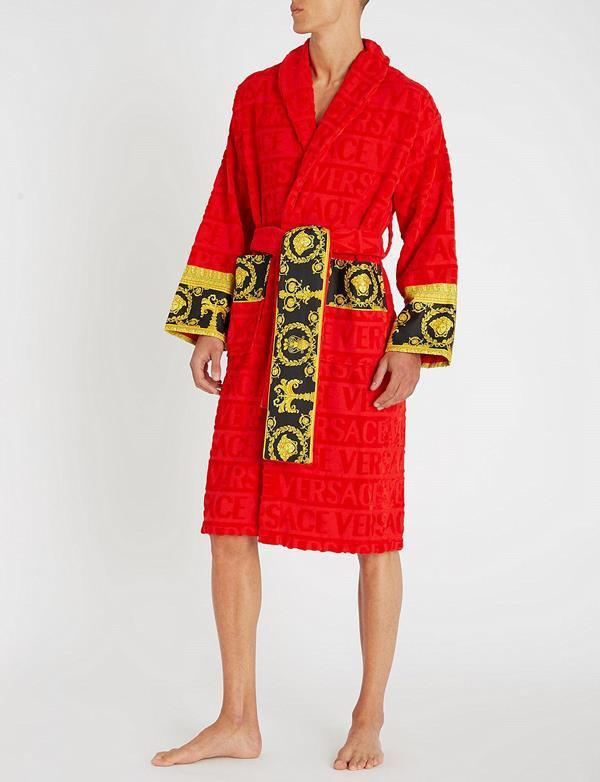 Roupão de banho Versace 'I love baroque'