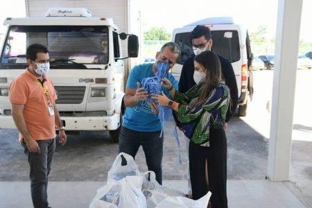 Hospital da Criança recebe doação de 5 mil máscaras de voluntários