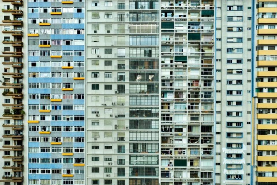 Janelas de prédios