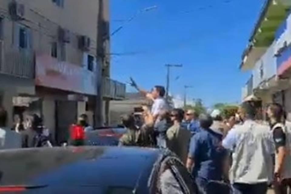 Bolsonaro provoca aglomeração em Cristalina