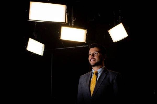 Matheus Ribeiro novo apresentador do DF Record