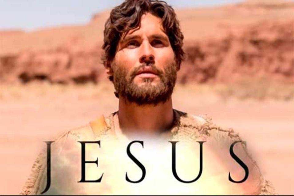 Logo da novela Jesus da RecordTV