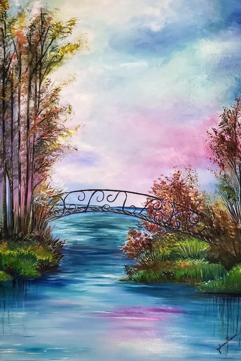 Pintura de natureza