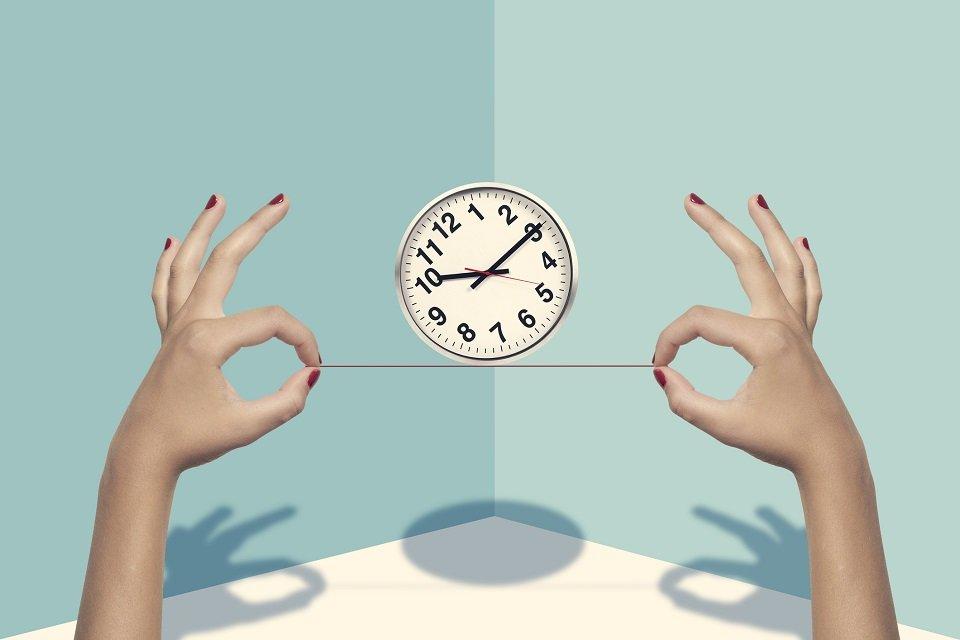 relógio noção de tempo