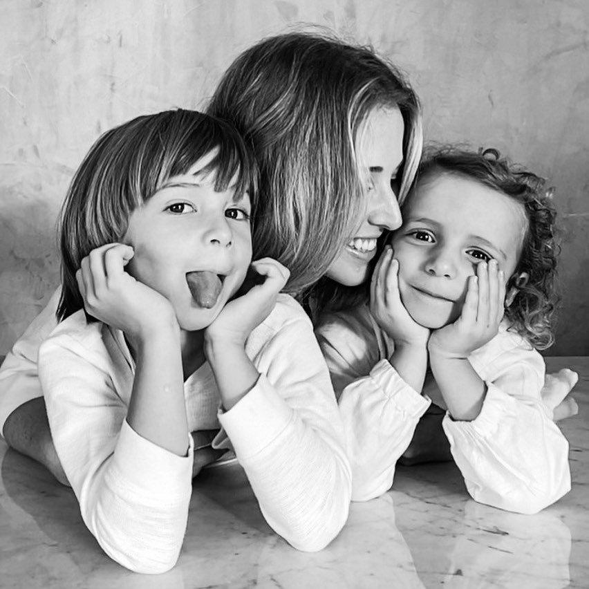 João, Allegra e Duda Maia
