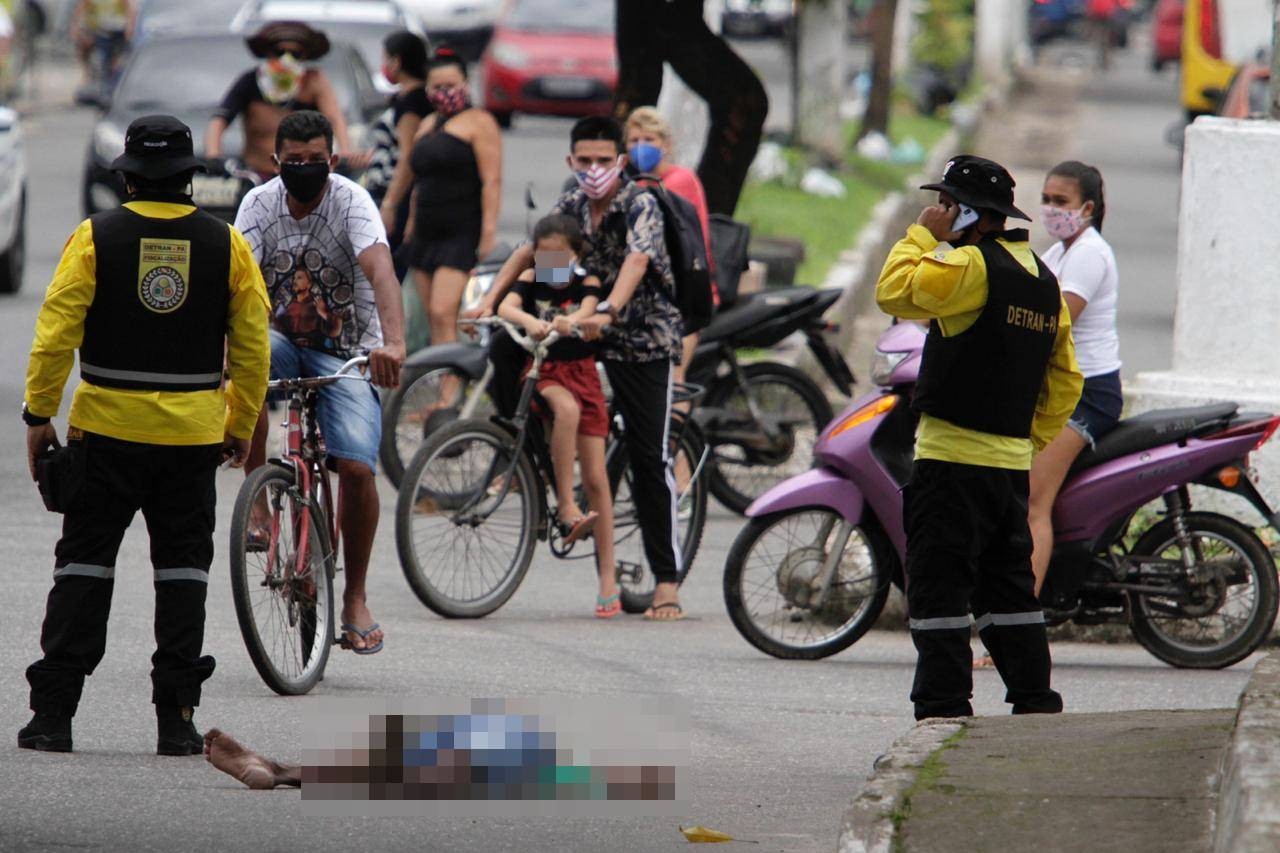 Morte por coronavírus em Belém