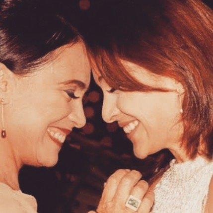 Gabriela-Duarte e Regina Duarte