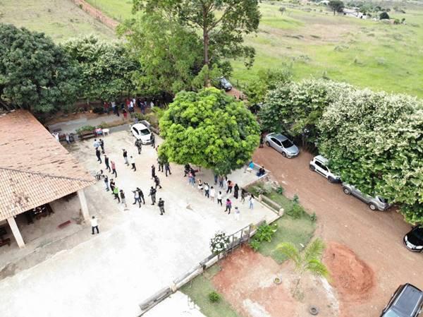 Operação da PMDF envolveu diversas equipes da corporação