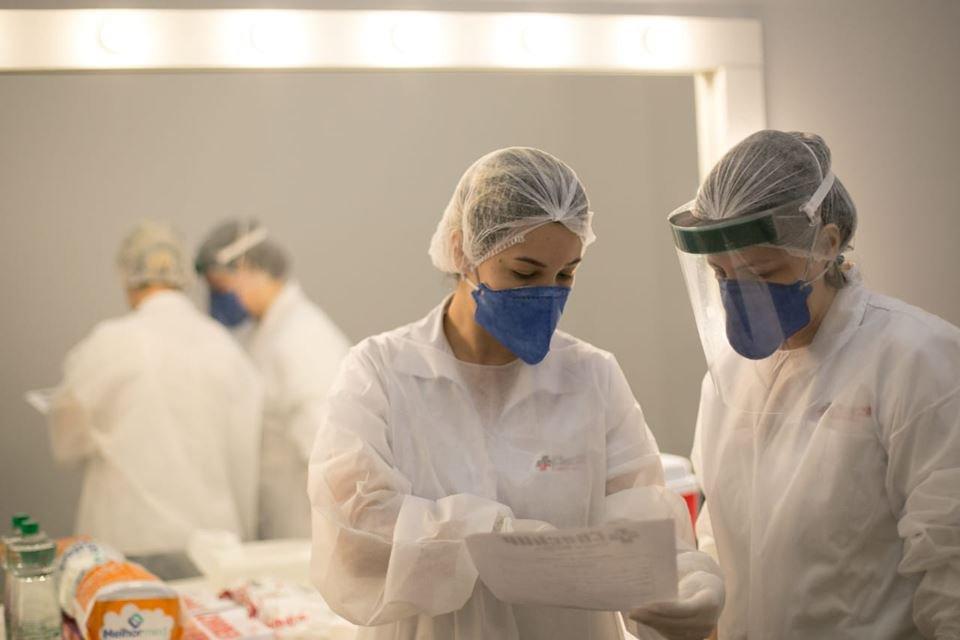 Testes de coronavírus são realizados no Sesc 504 Sul