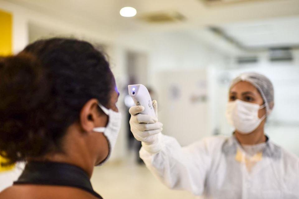 Exames de coronavírus são realizados no Sesc da 504 Sul