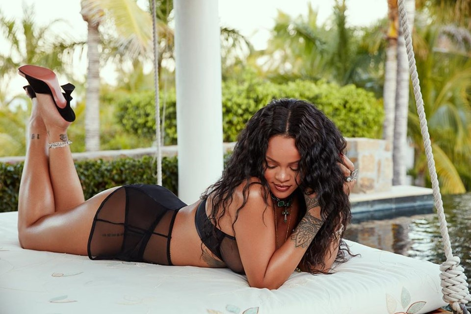 Rihanna lança concurso para nova campanha de lingeries da Savage x Fenty